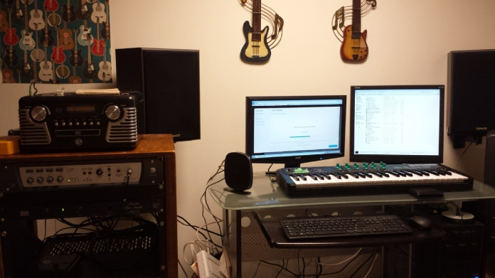 Workstation (one of them, anyway)